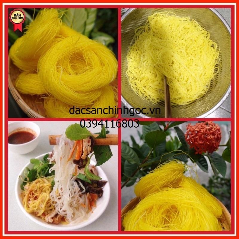 Bún gạo khô sợi vàng
